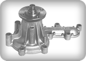 Toyota 1HZ Water Pump