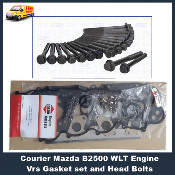 Courier-Mazda-B2500-WLT-Engine-Vrs-Gasket-set-and-Head-Bolts