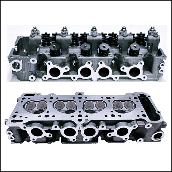Ford Courier G6 Cylinder Head Fitted Valves