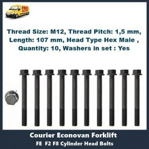 Ford FE F2 F8 Cylinder Head Bolts