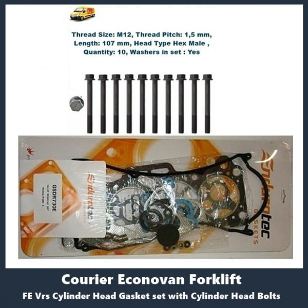Ford FE Vrs Cylinder Head Gasket set with Cylinder Head Bolts