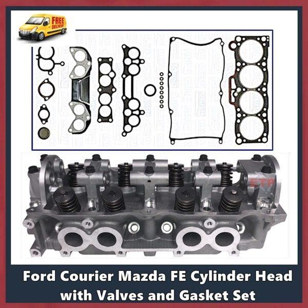 Ford Mazda FE F2 F8 Cylinder Head Assembled