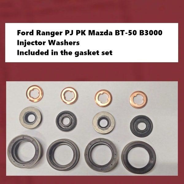 Ford Ranger PJ PK Mazda BT-50 B3000 injector washers