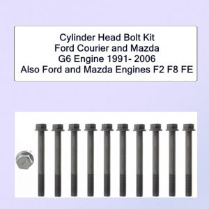 Ford and Mazda G6 cylinder head bolt kit