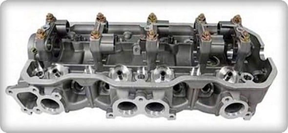 Holden Rodeo 4ZE1 Cylinder Head