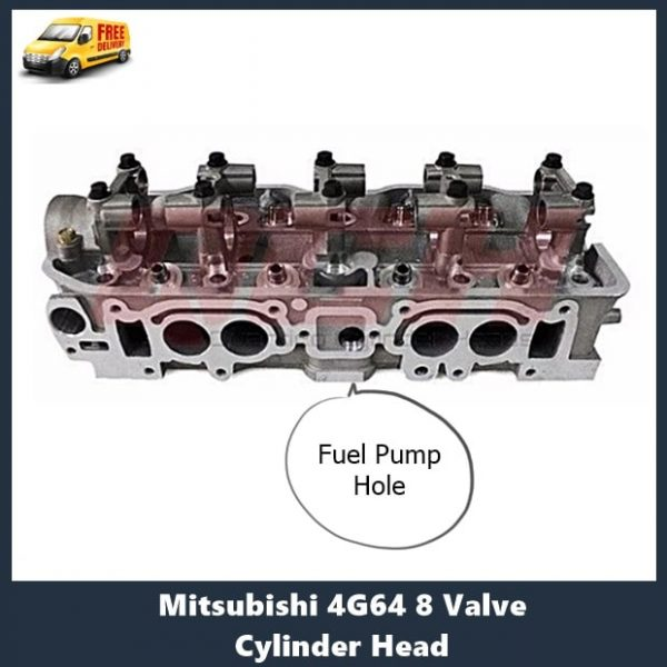Mitsubishi 4G64 8 Valve Cylinder Head with fuel pump hole