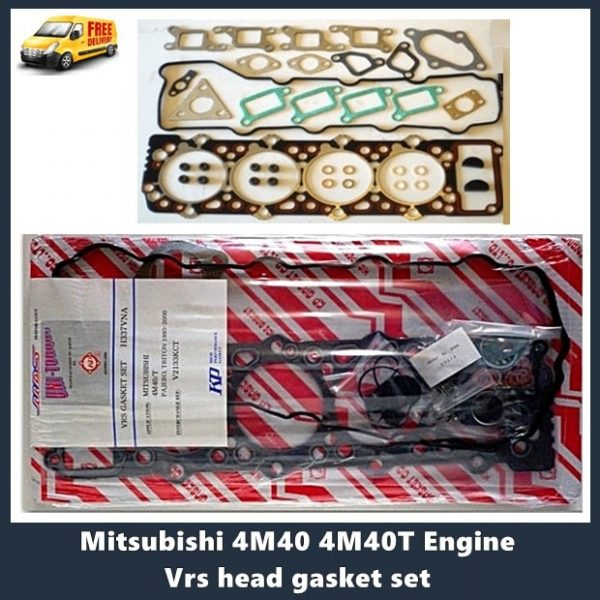Mitsubishi 4M40 4M40T Engine Vrs head gasket set