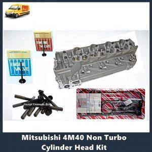 Mitsubishi 4M40 Non Turbo Cylinder Head Kit