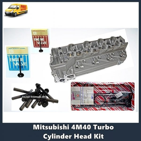 Mitsubishi 4M40 Turbo Cylinder Head Kit