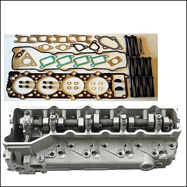 Mitsubishi 4M40T Cylinder Head Assembled