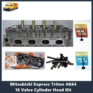 Mitsubishi Express Triton 4G64 16 Valve Cylinder Head Kit