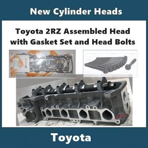 Toyota 2RZ assembled Cylinder Head with Gasket Set and Head Bolts