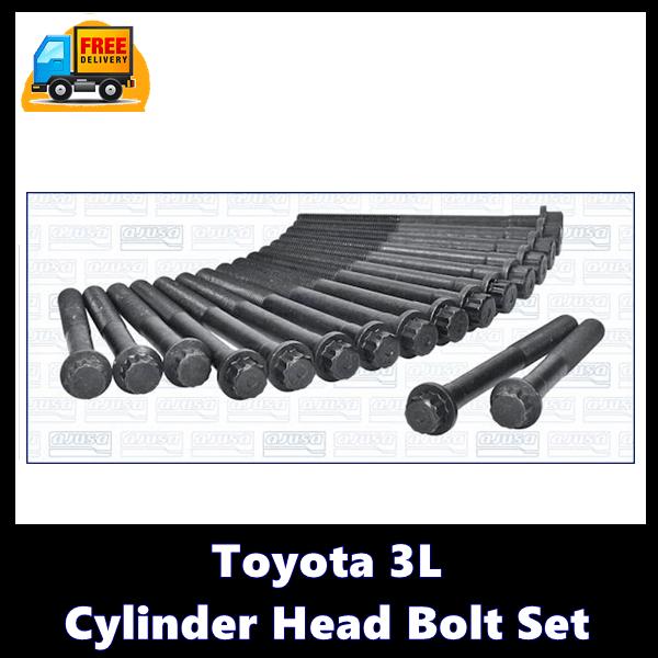 Toyota 3L Cylinder Head Bolt Set