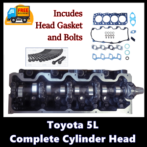 Toyota 5L Complete Cylinder Head