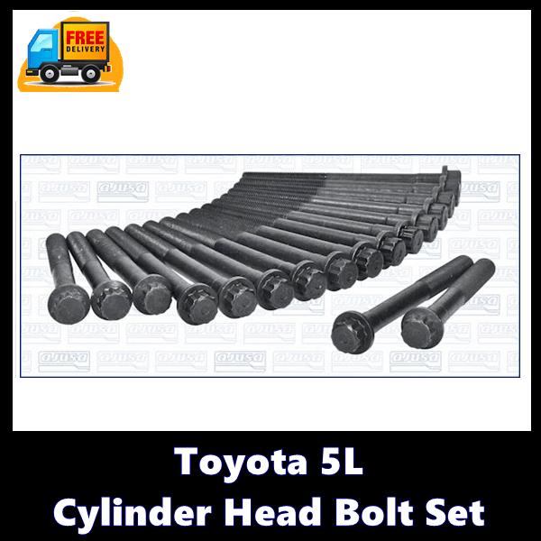Toyota 5L Cylinder Head Bolt Set-