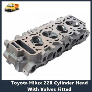 Toyota Hilux 22R Cylinder Head With Valves Fitted