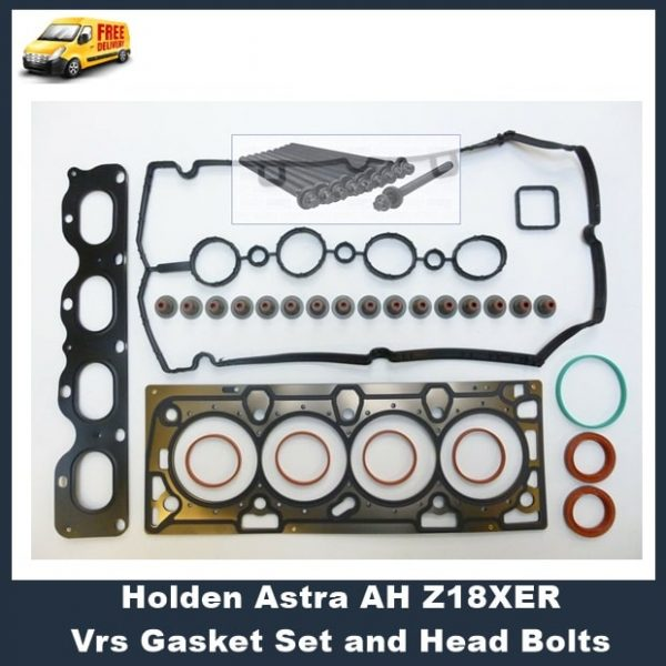 Holden Astra AH Z18XER Vrs Gasket Set and Head Bolts