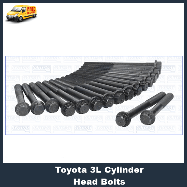Toyota 3L Cylinder Head Bolts