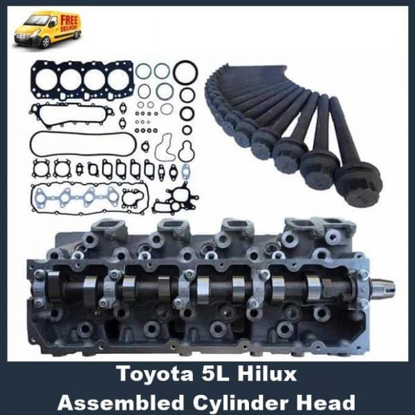 Toyota 5L Hilux Assembled Cylinder Head