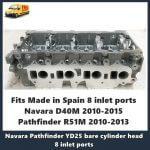 Nissan-Navara-YD25-5X0-Late-cylinder-head