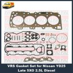 Nissan YD25 8 port vrs head gasket set-