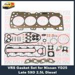 Nissan YD25 8 port vrs head gasket set-