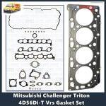 Mitsubishi Challenger Triton 4D56Di-T Vrs Gasket Set
