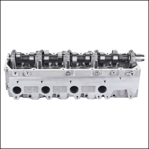 Toyota 1KZ-TE Complete Cylinder Head Recessed Valves