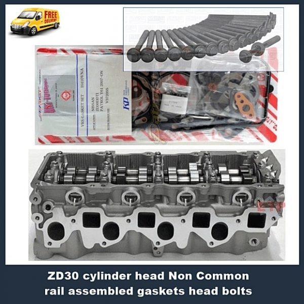 ZD30-cylinder-head-Non-Common-rail-assembled-gaskets-head-bolts