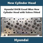 Hyundai D4CB iLoad iMax New Cylinder Head with Valves Fitted