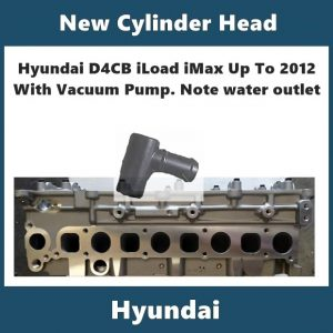 Hyundai iLoad iMax new bare cylinder head up to 2012