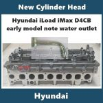 Hyundai iLoad iMax d4cb new cylinder head early models
