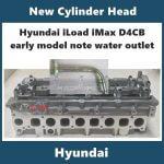Hyundai iLoad iMax d4cb new cylinder head early models