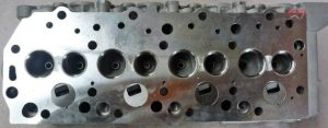 4D56T cylinder head with valves above face