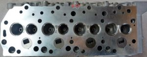 4D56T cylinder head with valves below face