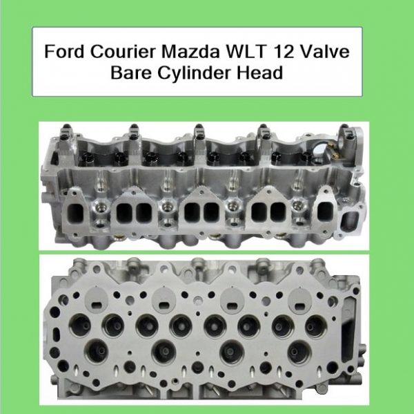 Ford Courier Mazda WLT 12 Valve Bare Cylinder Head