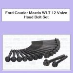 Ford Courier Mazda WLT 12 Valve Head Bolt Set