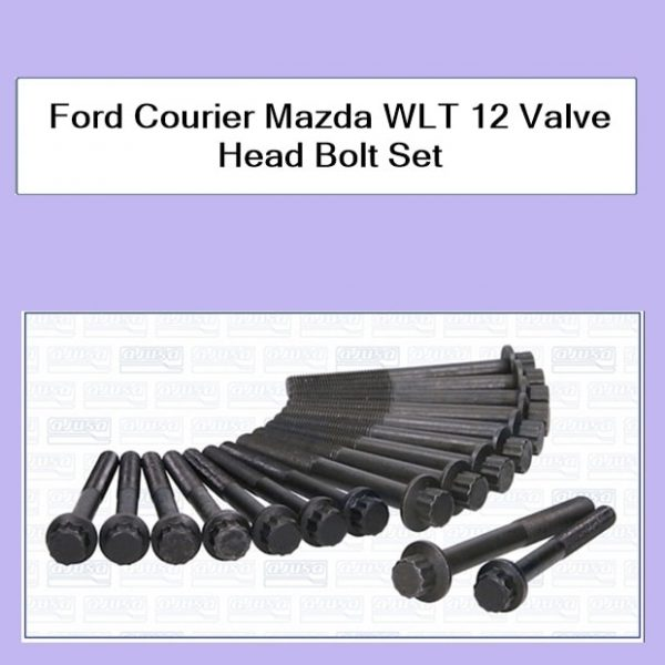 Ford Courier Mazda WLT 12 Valve Head Bolt Set