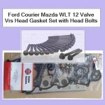 Ford Courier Mazda WLT 12 Valve Vrs Head Gasket Set with Head Bolts