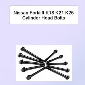 Nissan Forklift K18 K21 K25 Cylinder Head Bolts