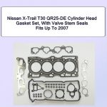 Nissan X-Trail T30 QR25-DE Cylinder Head Gasket Set With Valve Stem Seals Fits Up to 2007