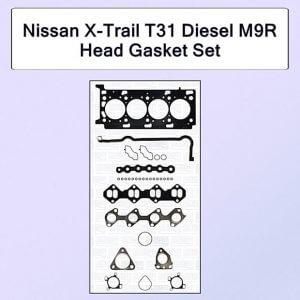 Nissan X-Trail T31 Diesel M9R Head Gasket Set