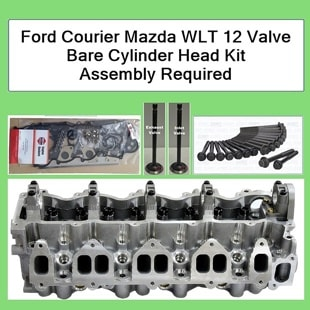 Ford Courier WL WLT Cylinder Head Kit with gasket set and bolts