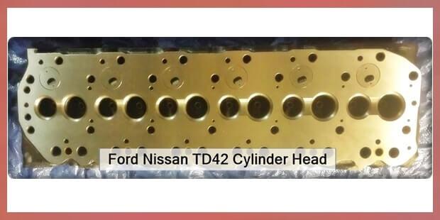 Ford Nissan TD42 Cylinder Head