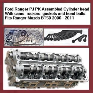 Ford Ranger PJ PK Assembled Cylinder head