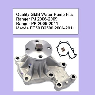 Quality GMB Water Pump Ranger PJ PK 2006-2011 Mazda BT50 B2500 2006-2011
