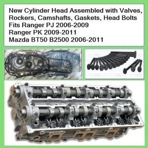 Ranger New Cylinder Head with Valves , Rockers, camshafts, Gaskets, Head Bolts