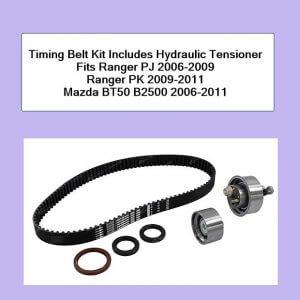 Timing Belt Made by Optibelt Fits Ranger PJ 2006-2009 Ranger PK 2009-2011 Mazda BT50 B2500 2006-2011 SKU T1601N