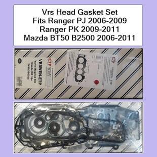 Vrs Head Gasket Set Fits Ranger PJ 2006-2009 Ranger PK 2009-2011 Mazda BT50 B2500 2006-2011