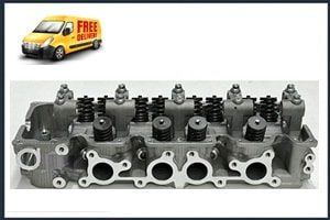 Ford Courier G6 Cylinder Head with Valves